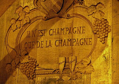 Champagne only comes from Champagne